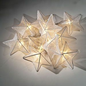 Not sure how I would use these, but love 'em! #stringlights #organza #lunabazzar $24.95