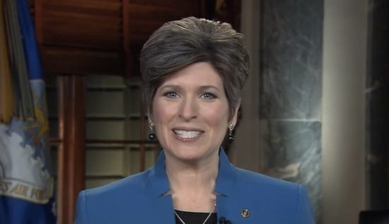 That $460,000 buys a lot of bread bags.  Senator Joni Ernst, the newly elected senator from Iowa, gave the Republican response to President Obama's State of the Union address on Tuesday. In her ...