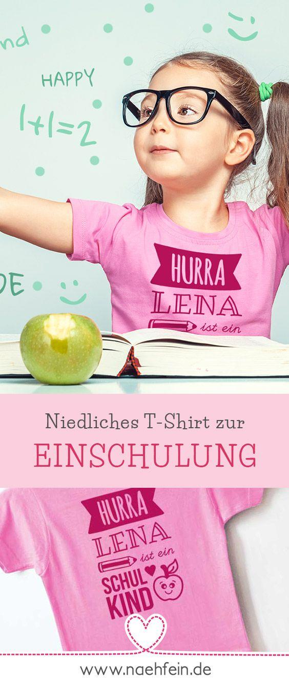Niedliches T-Shirt für Schulanmeldung    – Einschulung Geschenke, Ideen und Deko