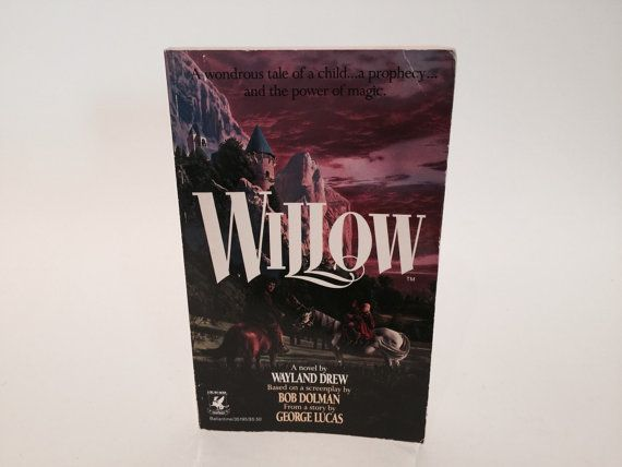 Hey, I found this really awesome Etsy listing at https://www.etsy.com/listing/226844836/vintage-fantasy-book-willow-film