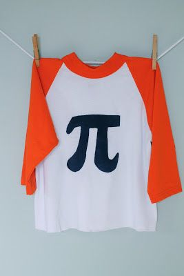 Celebrate Pi Day with this tee design
