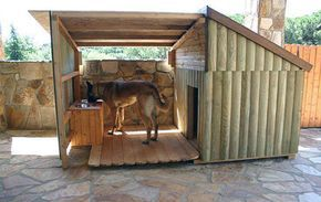 how to build a luxury dog house