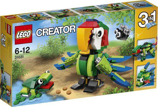 bol.com | LEGO Creator Regenwoud Dieren - 31031,LEGO € 29,99