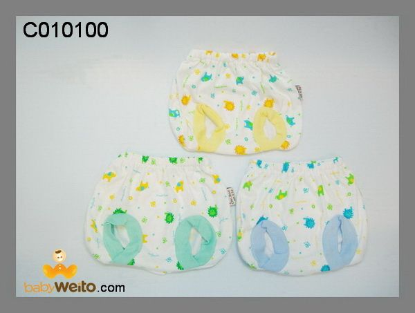C010100  Celana Pop   Bahan halus dan lembut  Ukuran: 3-6m  Warna sesuai gambar  IDR 45*/ 3pcs