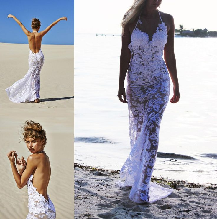 78  images about Beach wedding on Pinterest  Wedding Gowns and ...