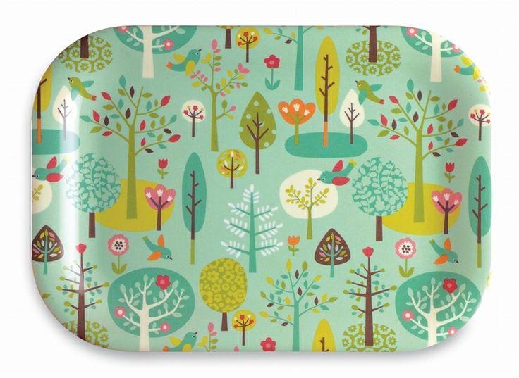Schattig mini plateau forest Mini Labo