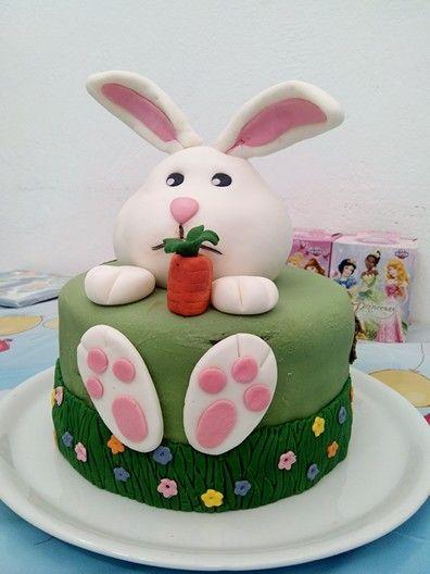 Tarta conejo.