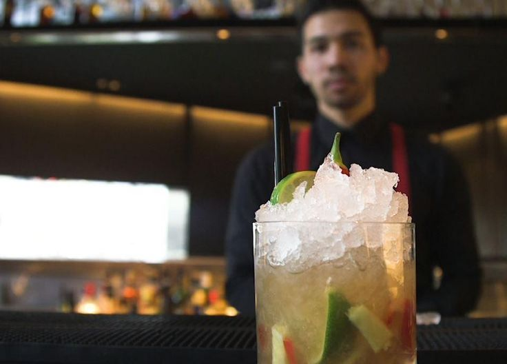Cool off with this fresh summer mocktail. In this video, Pan-Asian restaurant and bar Chino Latino shows how to make Latino classic Chilli and Ginger Caipirinha. Ingredients 25ml Sagatiba cachaca 25ml Stones ginger wine 6-8 chilli slices 6 lime wedges Fresh muddled ginger 1 tablespoon brown sugar Method Place all ingredients in an old fashioned glass and muddle, then fill the glass with crushed ice and stir.