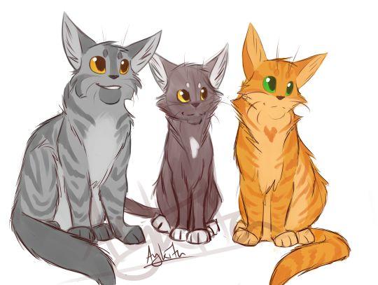 Warrior Cats Graystripe Silhouette
