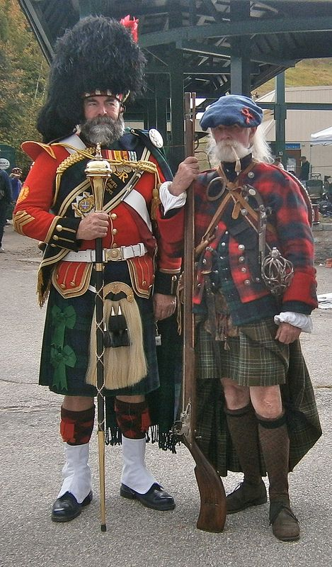 Well dressed Scotsmen - In the maps above, one can see the migration route of the Scandi's into the British Isles where the settled much of Northern Britain. There are interesting paralells between the two cultures. Of course the Vikings were not welcome to the British Islanders.