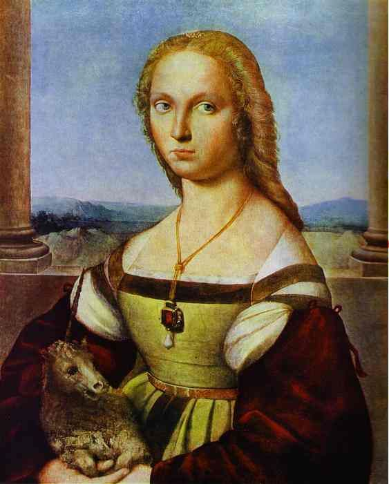 enthroned woman in art | raphael famous paintings 14 Beautiful Collection of Raphael Paintings