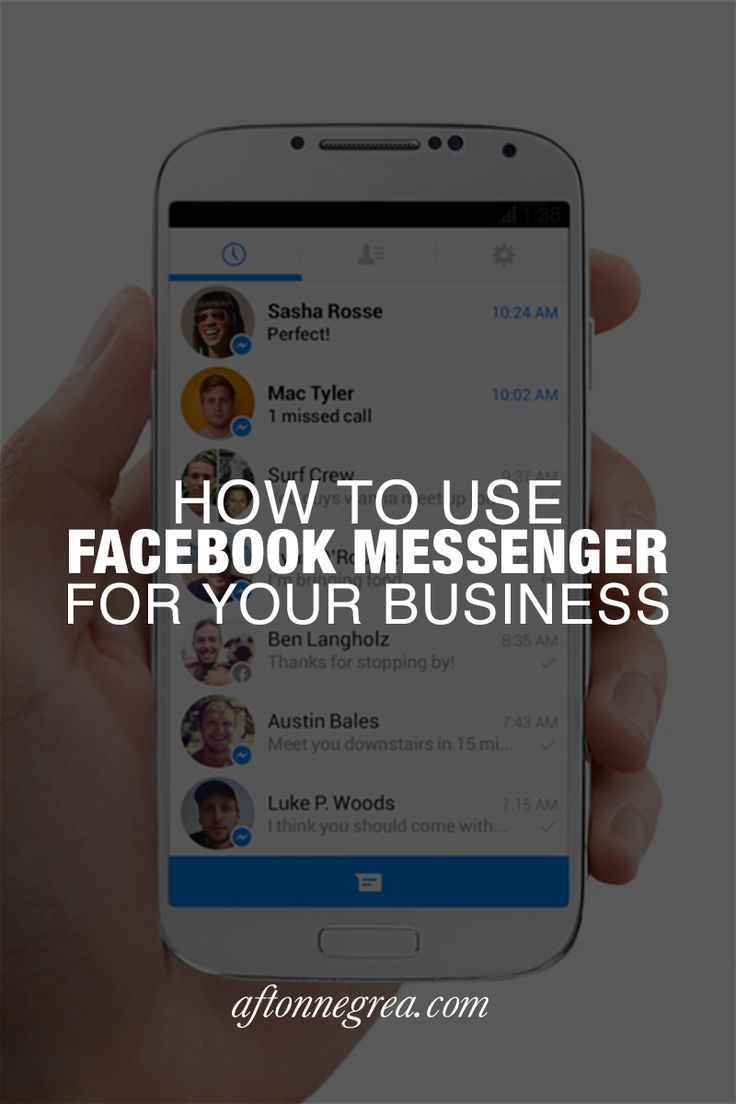 Messenger isn't just for messaging your friends - it could mean big changes to…