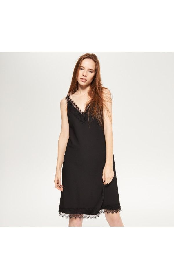 LADIES` DRESS, DRESSES, black, RESERVED