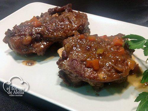 Carrilleras de Cerdo con salsa Pedro Ximenez