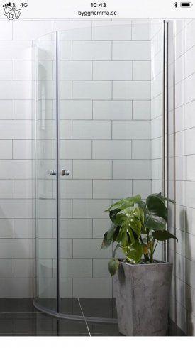Oanvända duschdörrar - Bathlife   Halland