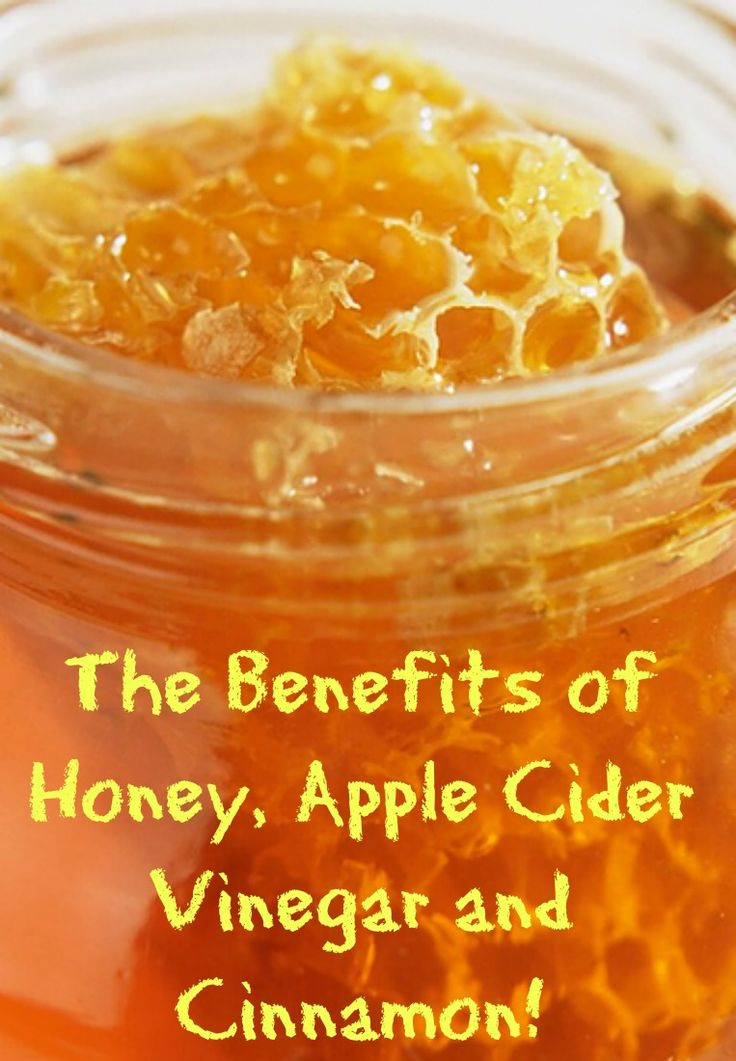 Check out the benefits of honey, apple cider vinegar (ACV) and Cinnamon!