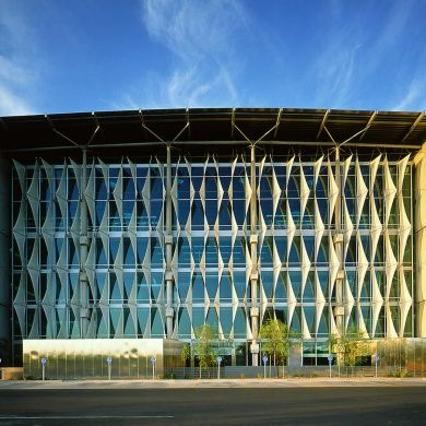 Burton Barr Central Library: Designer: DWL Architects and Will Bruder Location: 1221 North Central Ave, Phoenix, Arizona Project completed: 1995 Area: 280,000 sqf