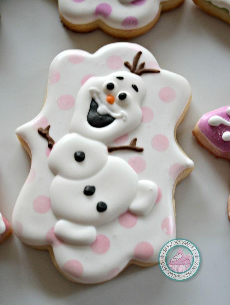 Image of Snowman Birthday Cookie set (12Cookies)