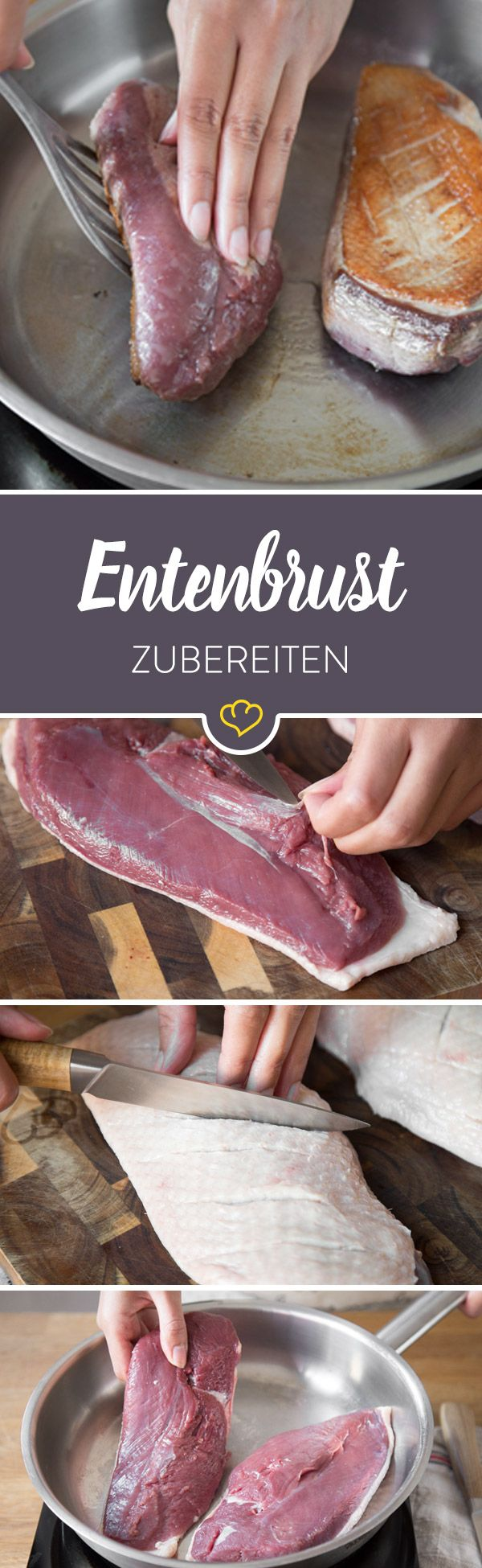Verbanne trockenes, zähes Entenfleisch aus deiner Küche. Mit diesen 4 Methoden garst du Entenbrust wunderbar zart, saftig und rosa.