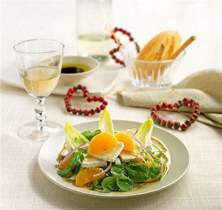 Receta de ensalada de berros con mandarina