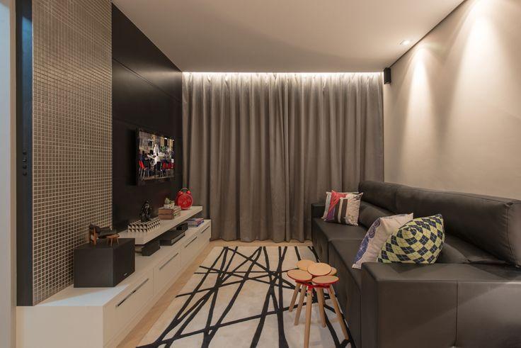 decoracao de sala para homens solteiros:Dicas de decoração em dois apartamentos de homens solteiros – Casa