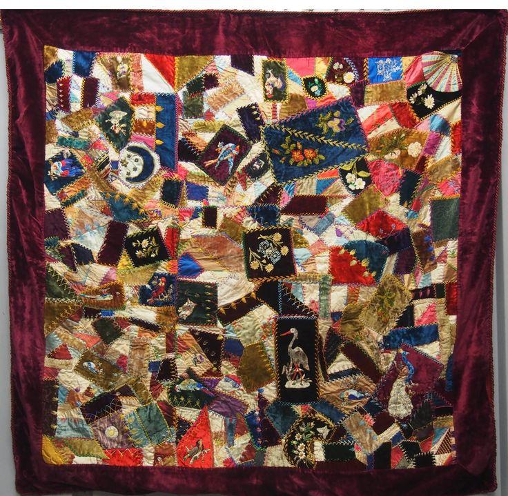 Vintage Crazy Quilts 85