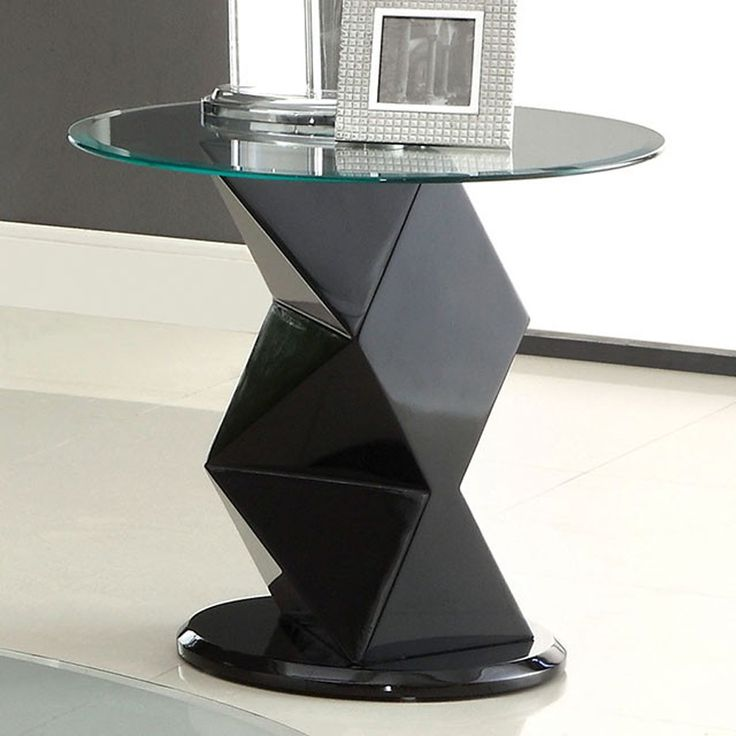 Contemporary End Tables 36 best black round end table images on pinterest | round end