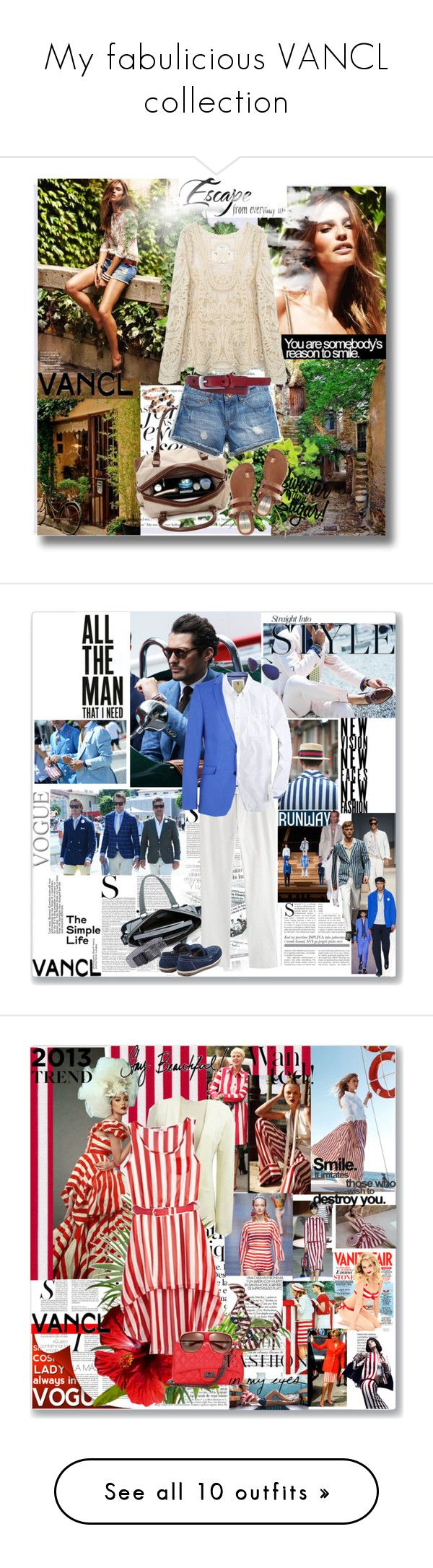 """""""My fabulicious VANCL collection"""" by naki14 ❤ liked on Polyvore featuring Retrò, Charli, Kenzo, Maison Margiela, Trussardi, Canali, SELECTED, Valletta, Dolce&Gabbana and Marc Jacobs"""