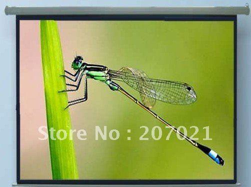100 дюймов Стекла Бисером 16:9 Руководство проекционный экран Руководство проекционный экран проекционный экран руководство (SGS сертификат СЕ)