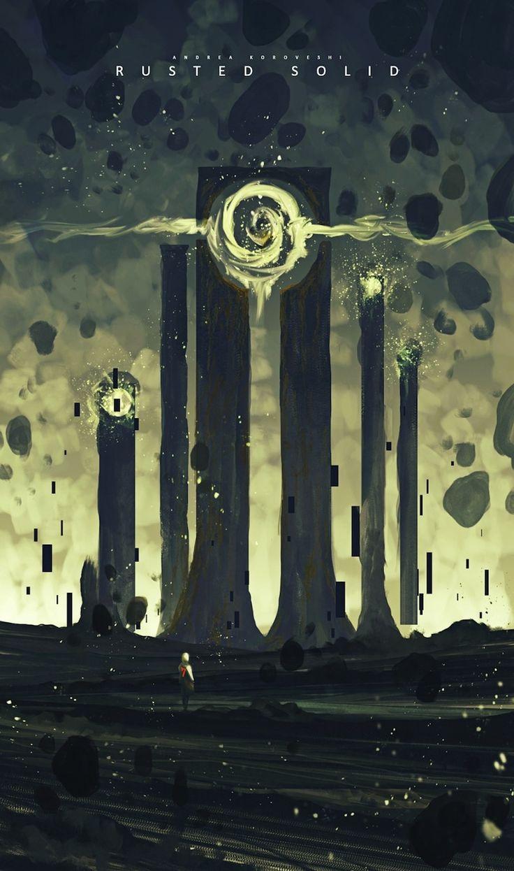 物語の入口。たった30分で描かれた美麗なSFコンセプトアート 6
