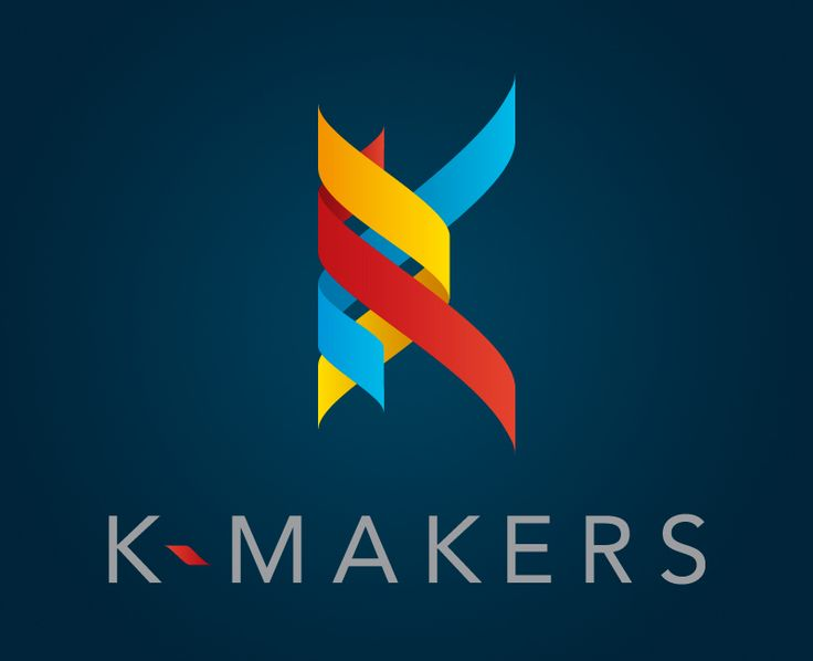 k makers 30 cool one letter logo designs design idea