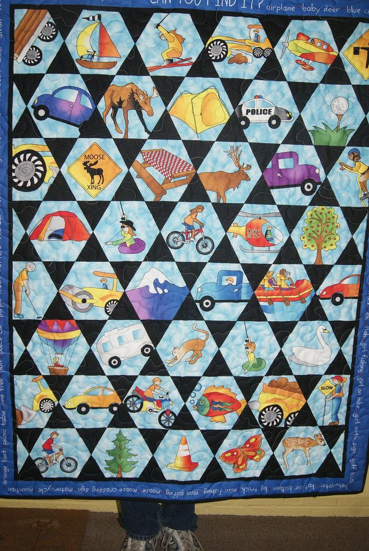 I Spy Quilt by SewMuch4me2do on Etsy