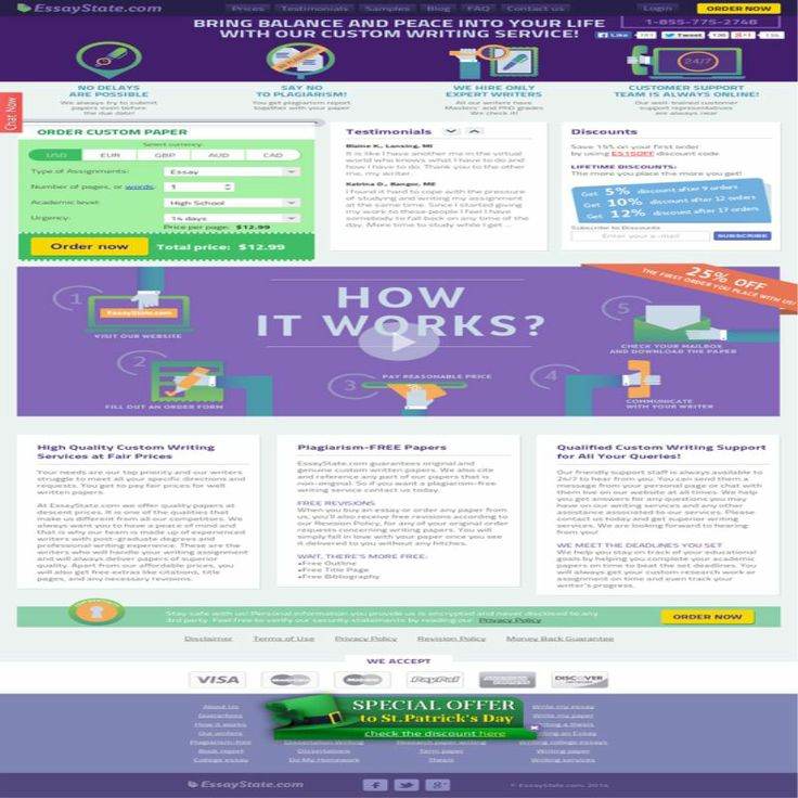 online term paper review