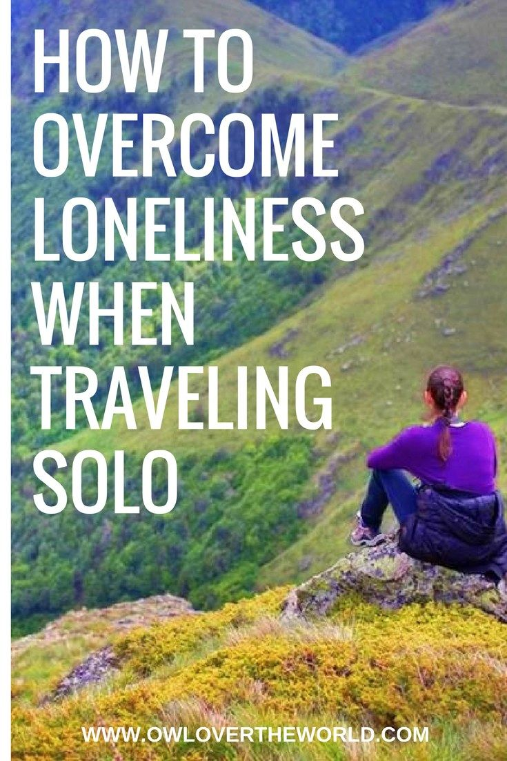 Solo traveling can be an amazing adventure and life changing experience. It's true that although all the great things you experience when traveling alone you can also feel lonely sometimes. That's why I've put together a couple of tips to help you overcome loneliness on a solo trip. Solo traveling / Solo trip / How to overcome loneliness when traveling solo / Solo female travel / Solo traveling tips / Solo female travel tips / How not to feel lonely when traveling alone / travel tips /
