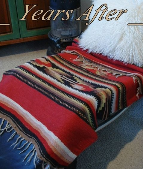 Antique Indian Wool Double Saddle Blanket Throw Rug Hand Woven C 1900 S Antiqueindianwoolblanket