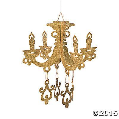 Chandelier Decorations Foil Google Search