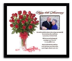 Wedding Anniversary Gifts Online Delivery : Wedding Anniversary Gift:Happy 60th Anniversary Poetry Gift60 Years ...