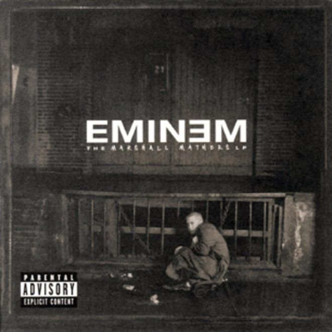 244. Eminem, 'The Marshall Mathers LP'  -  Aftermath, 2000