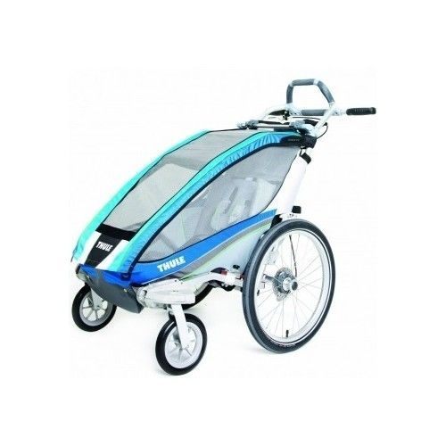 Thule Baby Jogging Stroller Child Bike Trailer Carrier Single Kids Weathershield #Thule