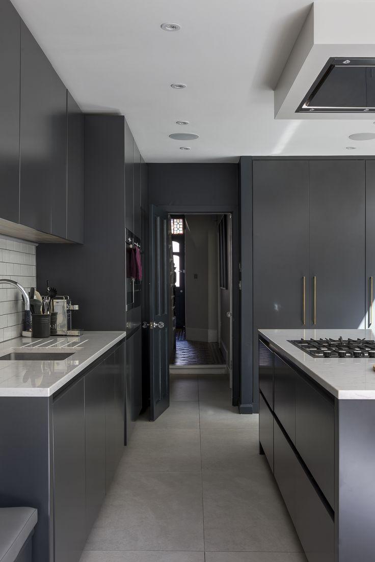 25 Grey Kitchen Ideas Modern Accent Grey Kitchen Design