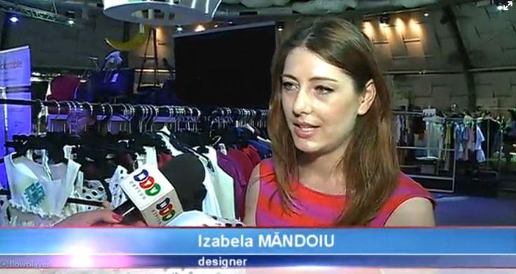 Izabela Mandoiu - interviu Neptun TV