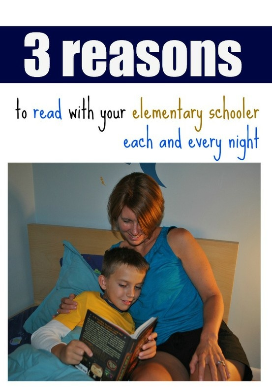 3 Reasons to Read with Your Elementary Schooler Every Night