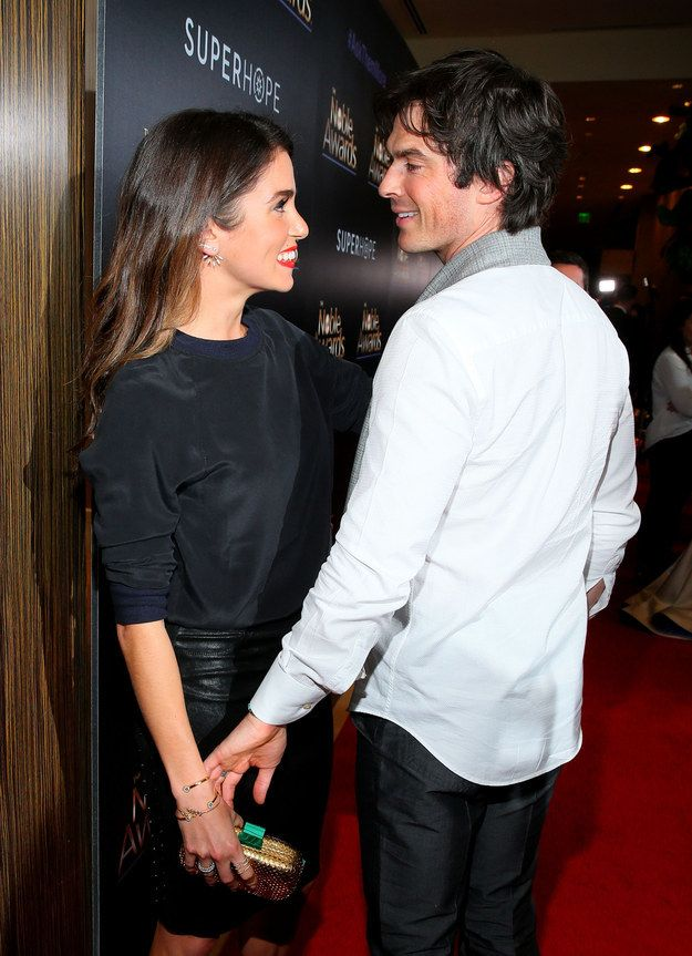 Awwwww, congrats you two! [Nikki Reed And Ian Somerhalder Are Husband & Wife!]
