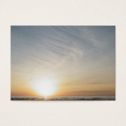 The 25 best blank business cards ideas on pinterest diy straw peaceful beach sunset sunrise add your text blank business card reheart Images