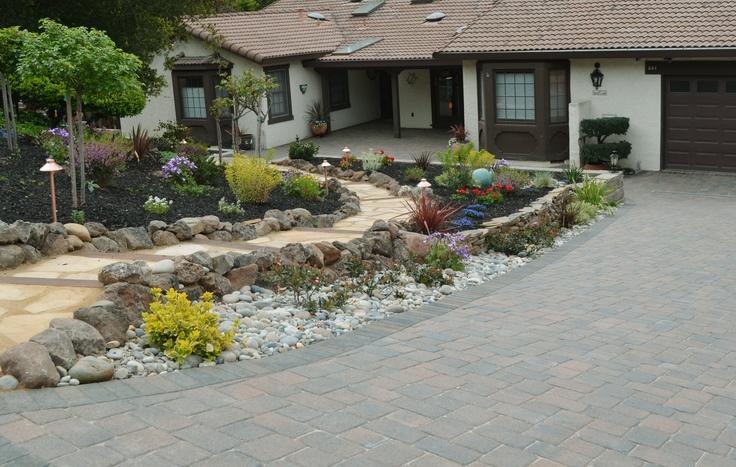 flagstone stepping stone walkway