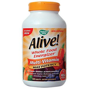 Alive Max 3 Daily (180 Tablets)  by Natures Way at the Vitamin Shoppe