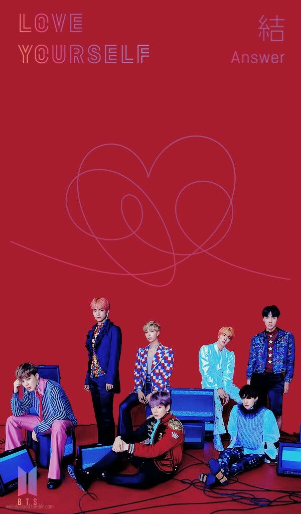 Bts Love Yourself Answer Jin Suga J Hope Rm Jimin V Y Jungkook Wallpaper Lockscreen Hd Fondo De Pantalla Mv Bts Love Yourself Bts Wallpaper Computer Love