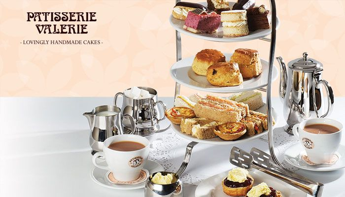 Win afternoon tea for two at Patisserie Valerie