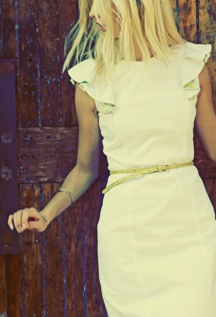 love this dress and belt
