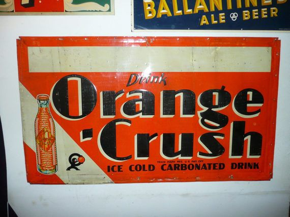 Drink Orange Crush Ice Cold Carbonated Drink by Streetreasure